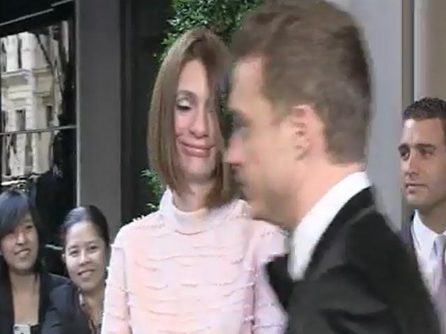 Christoph Waltz, Cara Delvingne And Renee Zellweger Leave For The Met Gala 2013
