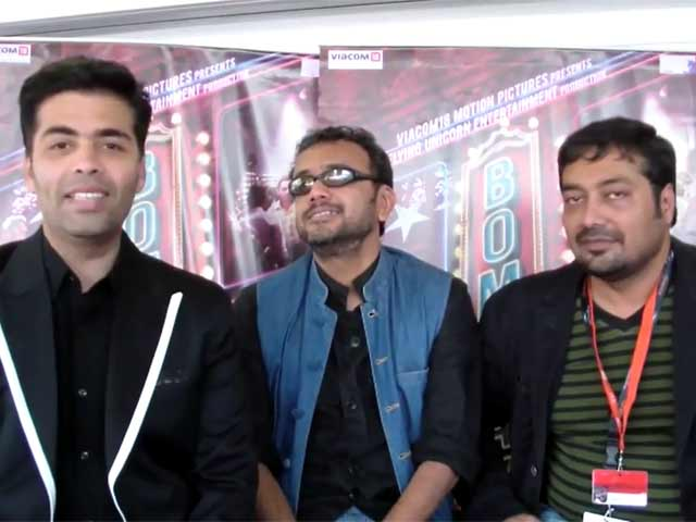 'Bombay Talkies' directors Karan Johar, Dibakar Banerjee And Anurag Kashyap Talk About Choosing Directors And Their Inspiration In Cannes Interview
