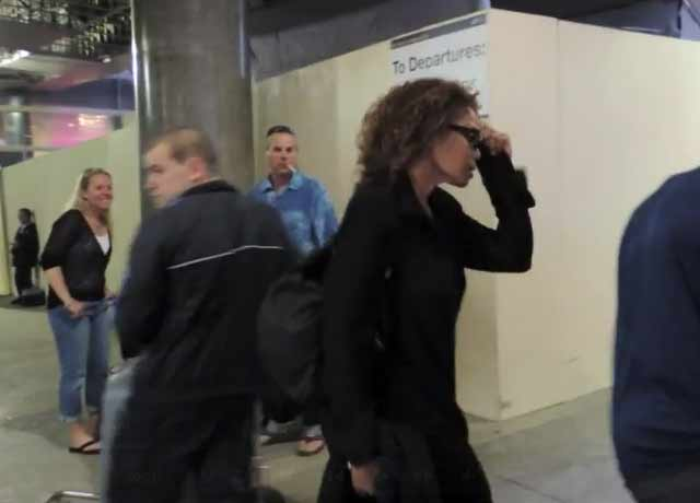 Janet Jackson Arrives At LAX Ahead Of Court Appearance