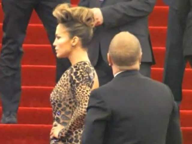 Jennifer Lopez Does Punk Couture Like...