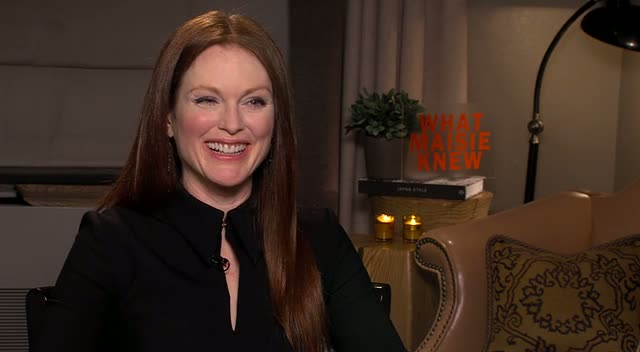 Julianne Moore Talks Balancing Parenthood With Work And Learning The Guitar In An Interview On New Movie 'What Maise Knew'