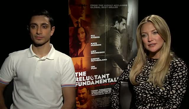 Kate Hudson And Riz Ahmed Discuss Yoga, India And 9/11 In An Interview About Their New Movie 'The Reluctant Fundamentalist'