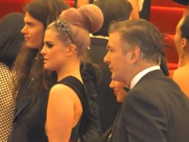Kelly Osbourne And Alec Baldwin Spotted With Respective Partners At The Met Costume Gala 2013