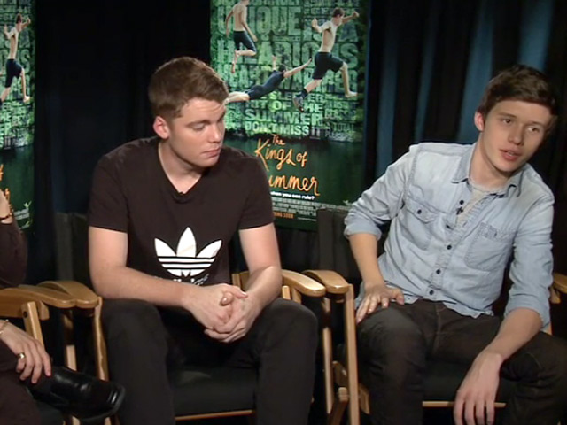 'The Kings Of Summer' Stars Moises Arias, Nick Robinson And Gabriel Basso Talk Favourite Scenes And 'Cgi Orgies' In Promo Interview - Part 2