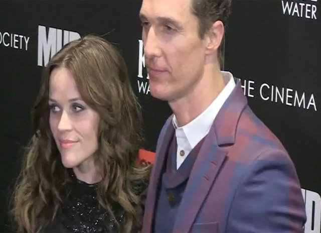 Matthew McConaughey And Reese Witherspoon Are Snapped At A 'Mud' Screening At The Museum of Modern Art