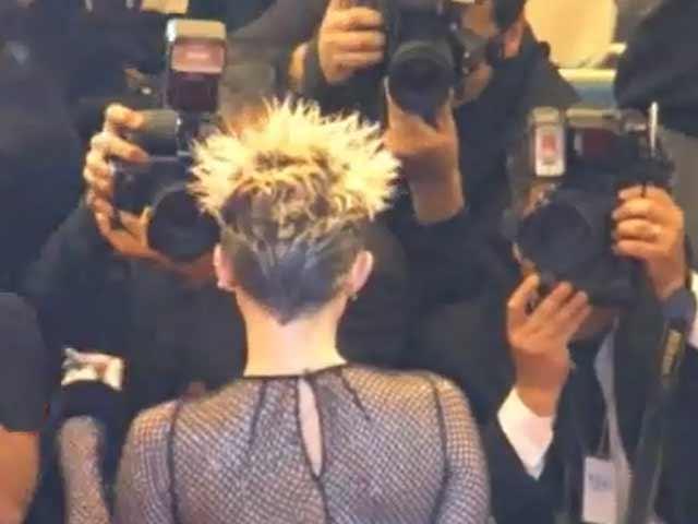 Miley Cyrus Goes Ultra Punk At Met Gala 2013