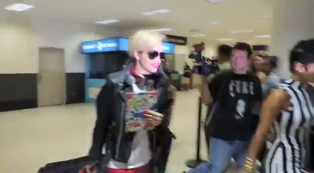 Rita Ora Says She Expresses Herself With Music As She Arrives At Lax