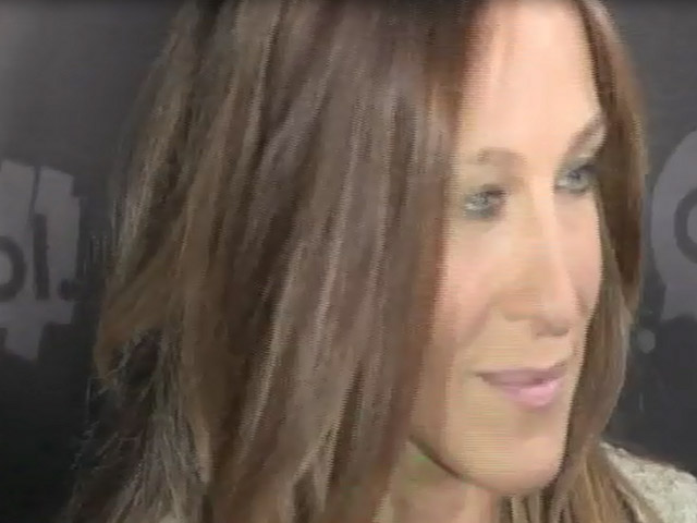 Sarah Jessica Parker And Olympian Gabrielle Douglas At AOL NewFront