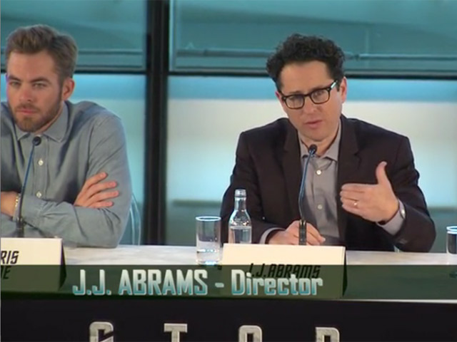 The Cast And Crew Of 'Star Trek Into Darkness' Talk Challenges, Auditions And Thefts At The UK Press Conference