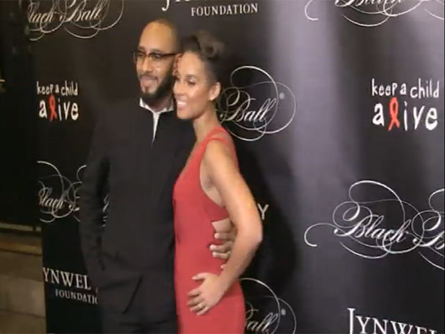 Alicia Keys Is Stunning In Red Satin At Keep A Child Alive Black Ball - Part 3