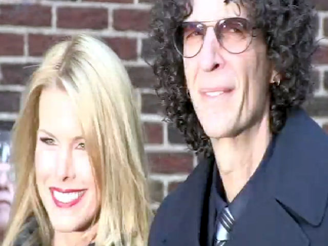 Howard Stern Denies Letterman-Leno Feud Outside The 'Letterman' Show