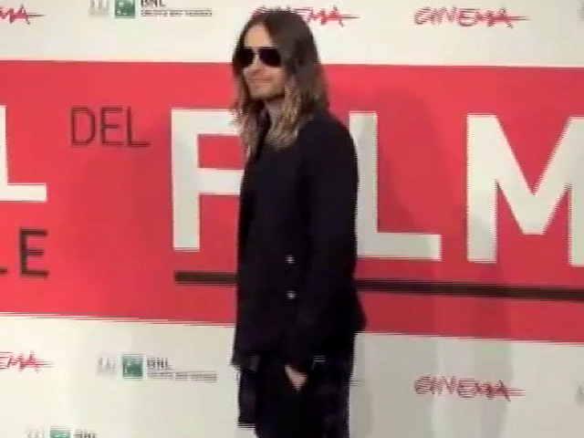 Jared Leto Snapped At RIFF Photocall For 'Dallas Buyers Club'