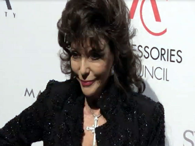 Joan Collins Looks Fabulous At The ACE Awards In New York - Part 1