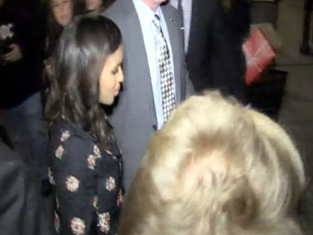 Pregnant Kerry Washington Arrives Before Husband Nnamdi Asomugha At SNL Afterparty