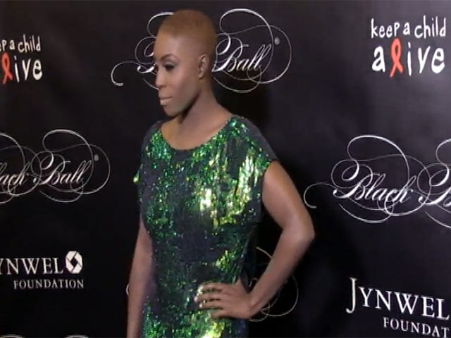 Laura Mvula Brightens Up The Red Carpet At The 2013 Keep A Child Alive Black Ball - Part 1