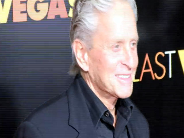 Michael Douglas And 50 Cent Arrive At The 'Last Vegas' NY Premiere - Part 2
