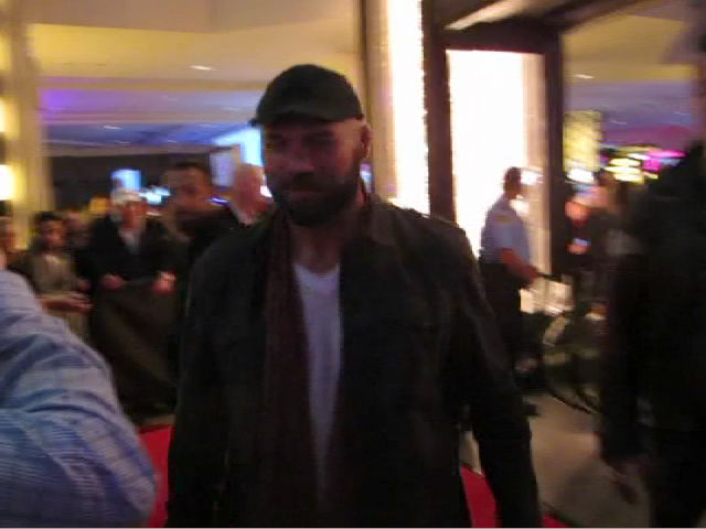 Randy Couture Supports Pal Jason With 'Homefront' Premiere Appearance - Part 2