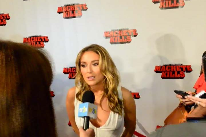 Alexa Vega Talks Casting Struggles For 'Machete Kills' At The Movie's Miami Premiere - Part 4