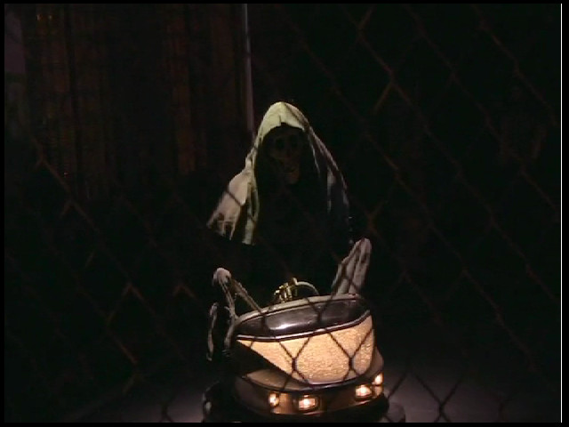 Banksy Unveils Grim Reaper Bumper Car Installation At The Bowery