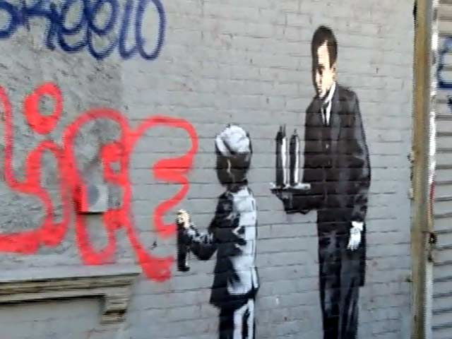 Banksy Satirises The 'Ghetto' Life Of The Bronx With New Art Piece