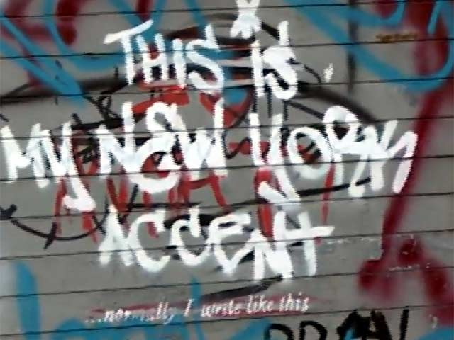 Banksy Unveils His 'New York Accent' In New Graffiti