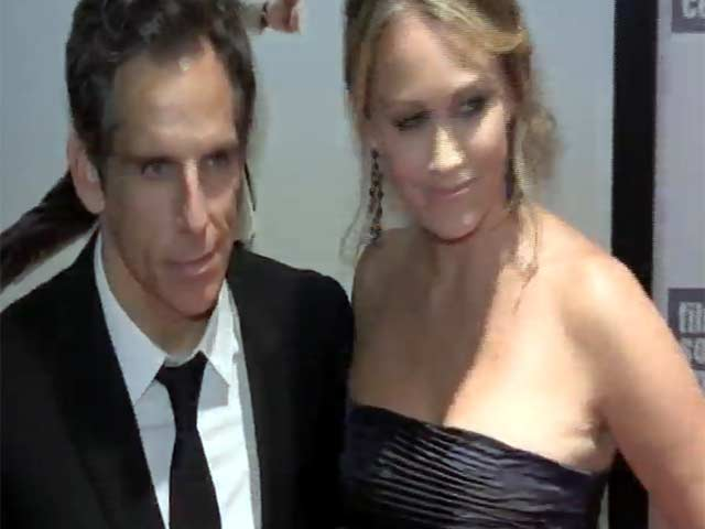 Ben Stiller And Kristen Wiig At 'The Secret Life of Walter Mitty' New York Film Festival Premiere - Part 1