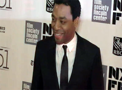 Chiwetel Ejiofor Arrives At The NYFF Premiere Of His New Movie '12 Years A Slave' - Part 1