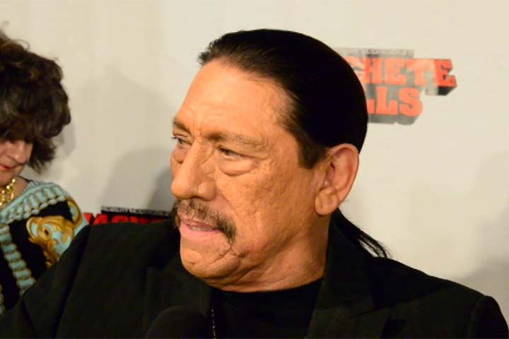Danny Trejo Talks Female Co-Stars At Miami Premiere Of 'Machete Kills' - Part 3