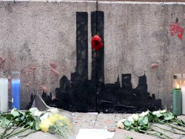 Fans Beg That Banksy's Twin Towers Art Piece Remains Intact