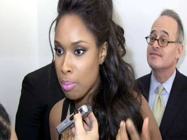 Jennifer Hudson Talks Movies At The GLWD 2013 Golden Heart Awards - Part 3