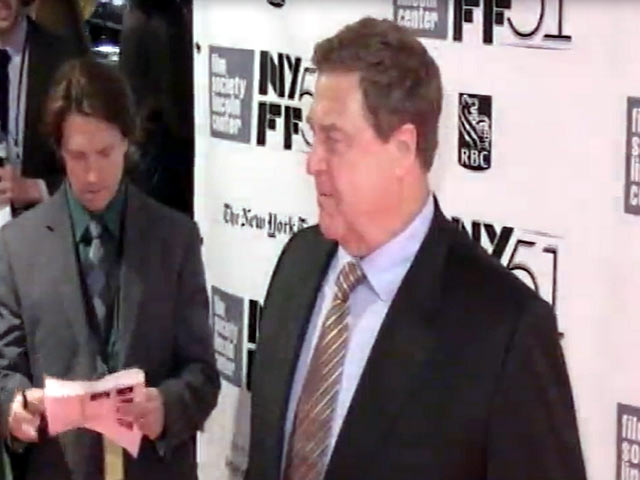 John Goodman And Carey Mulligan Arrive At 'Inside Llewyn Davis' NYFF Premiere - Part 2