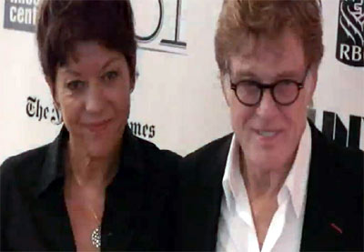 Robert Redford Arrives With His Wife At The 'All Is Lost' NYFF Premiere - Part 1
