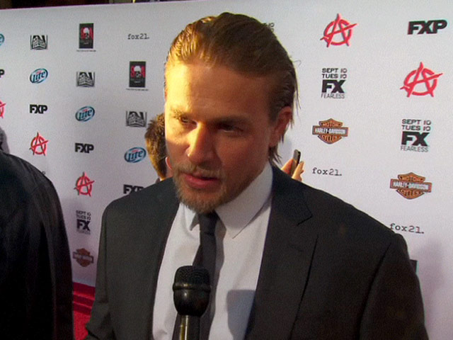 Charlie Hunnam Reveals His Favourite Ever 'Sons Of Anarchy' Episode In Red Carpet Interview