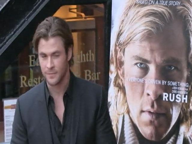 Chris Hemsworth Spotted At 'Rush' New York Screening Premiere