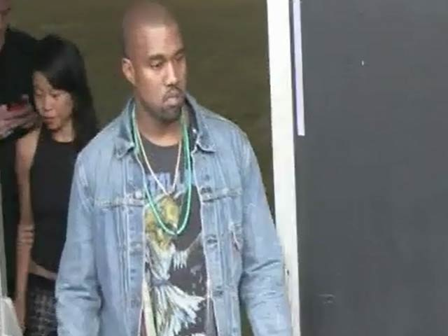 Kanye West And Maggie Gyllenhaal Among Stars Spotted At NY Fashion Week Vera Wang Show