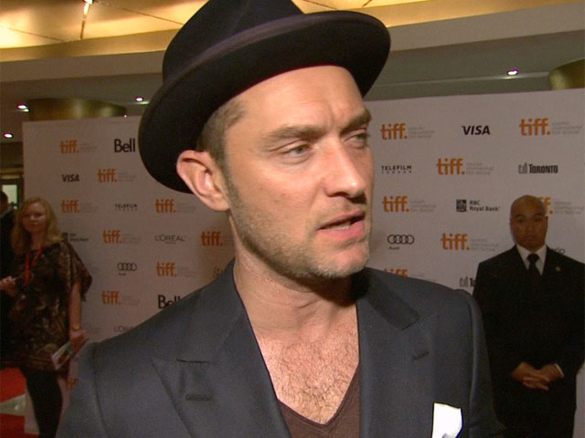Jude Law Compares Dom Hemingway To Shakespeare's Falstaff At Toronto International Film Festival