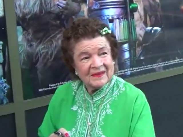 Dorothy Barrett Takes A Trip Down Memory Lane At 'The Wizard Of Oz' Hollywood Opening - Part 4