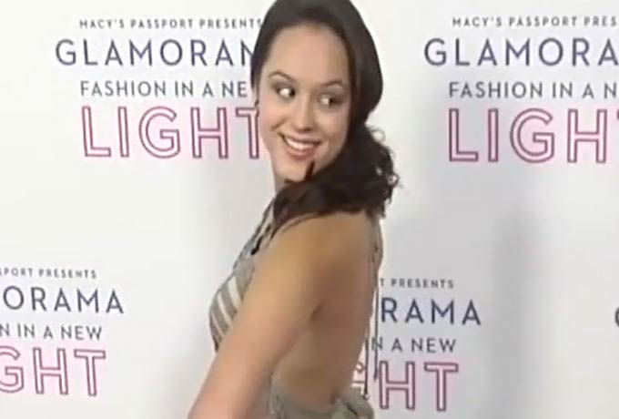 Hayley Orrantia On The Red Carpet At Macy's Passport 'Glamorama'- Part 3