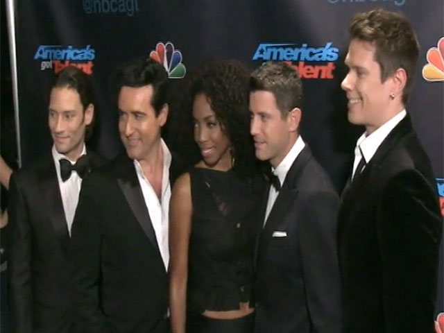 Icona Pop And Il Divo Among Musicians Spotted At 'America's Got Talent' Finals Event - Part 1