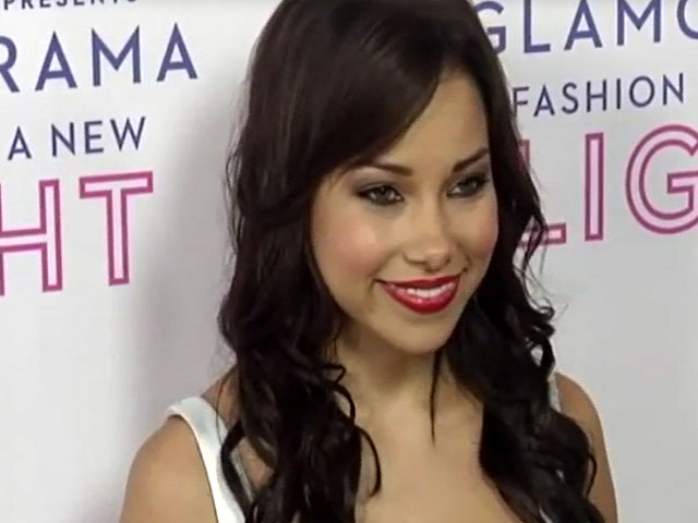 Jessica Parker Kennedy Wears Flattering Monochrome Dress At Macy's Passport 'Glamorama' - Part 11