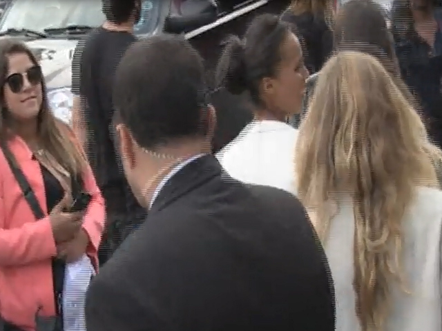 Kerry Washington Is Snapped In White At Mercedes-Benz Fashion Week - Part 1