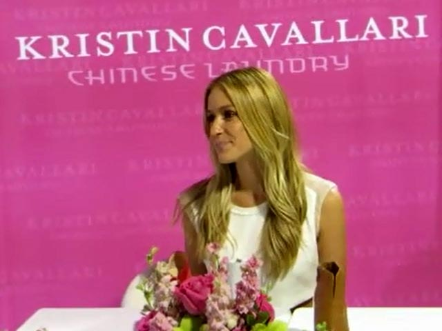 Kristen Cavallari Talks About Her Shoe Range At Vegas' Fashion Tradeshow