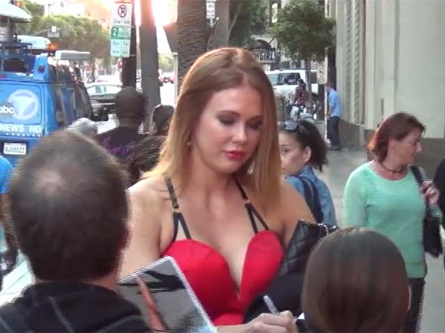 Maitland Ward Turns Heads In Red At 'The Wizard Of Oz' Opening Night - Part 11