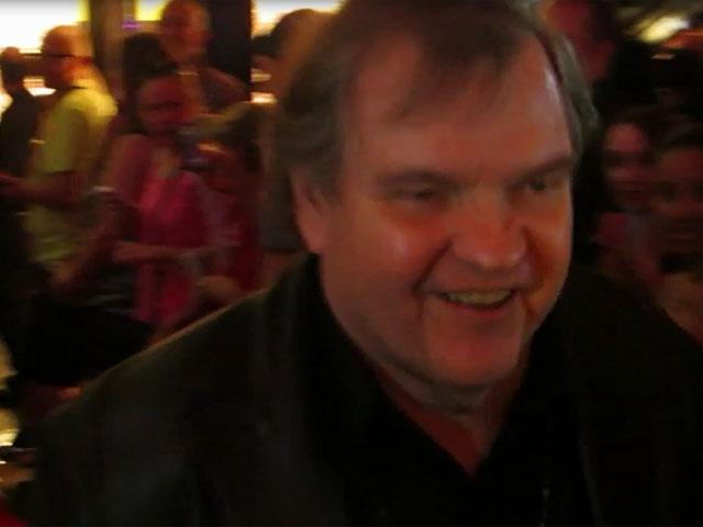 Meatloaf Greets Fans At The Las Vegas 'Runner Runner' Premiere