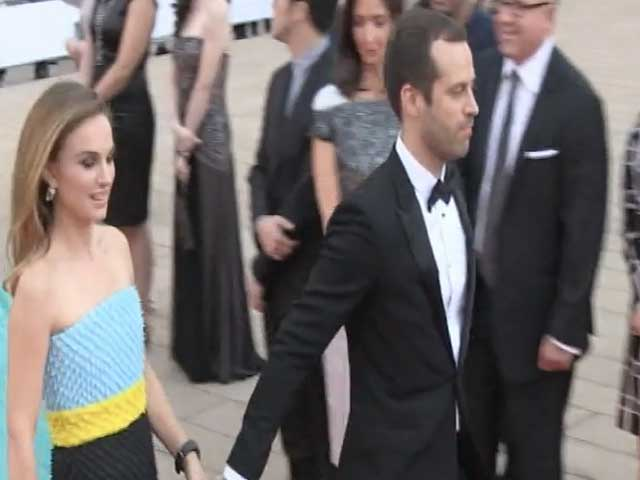 Natalie Portman Is Snapped With Husband Benjamin Millepied At NYC Ballet Gala - Part 3