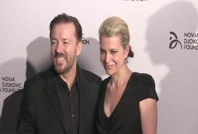 Novak Djokovic And Ricky Gervais Arrive To Support Novak's Charity Dinner In NY - Part 4