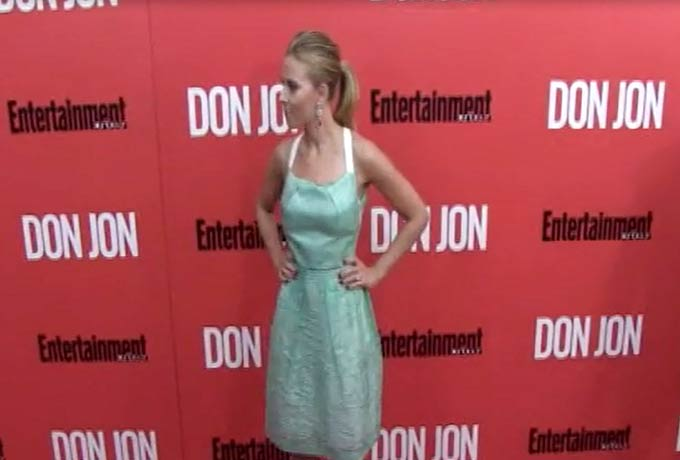 Scarlett Johansson Is Terrific In Turquoise At 'Don Jon' NY Premiere - Part 1