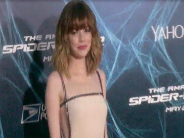 Emma Stone Is Joined By Paul Giamatti At 'The Amazing Spider-Man 2' NY Premiere - Part 5
