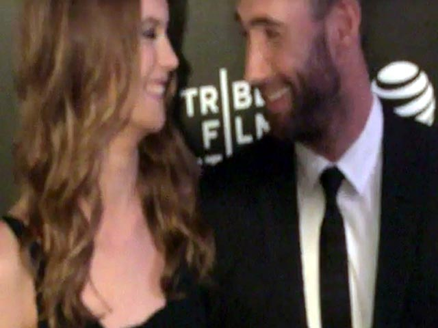Hailee Steinfeld And Adam Levine Arrive At The Tribeca Premiere Of 'Begin Again' - Part 1