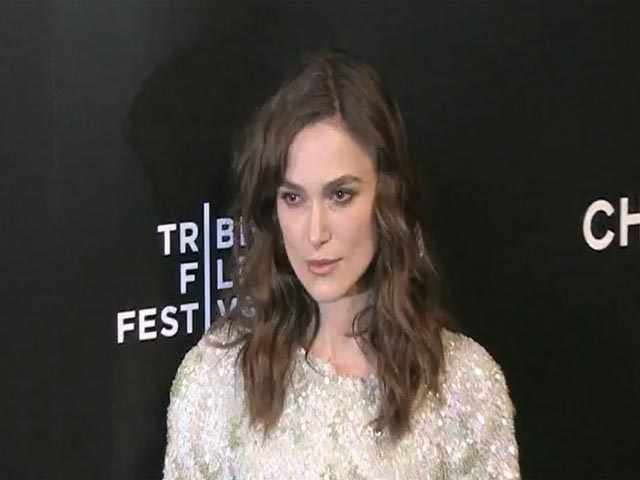 Keira Knightley Describes 'Begin Again' As 'Positive And Upflifting' At The Tribeca Premiere - Part 2